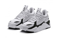 PUMA RS-X Core - White Black  - 369666-01 / 36966601 /.Running Sneakers Shoes