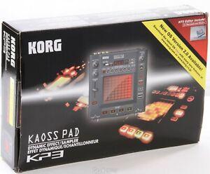 Korg Kaoss Pad KP3 + Zubehör (Sampler, DJ ,Controller) + Netzteil