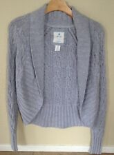 Aerie Women's Long Sleeve Gray One Clasp Knit Cardigan Sz M