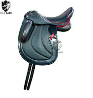 WILDRACE New Dressage Leather saddle All Size