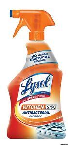 Lysol Antibacterial Kitchen Pro Cleaner-Kills 99.9% Of Viruses 22oz