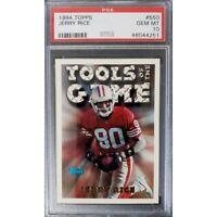1994 Topps Jerry Rice #550 PSA 10 Mint