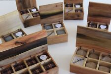 mother's day graduation gift, rustic wood Watch Box for 10 Ten | father's