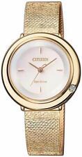 Armbanduhr Analog Quarz Uhr CITIZEN Eco-Drive Damenuhr EM0643-84X Modeschmuck