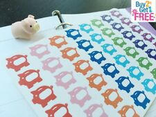 PP044 -- Small Piggy Bank Planner Stickers for Erin Condren (48pcs) BUY2GET1FREE