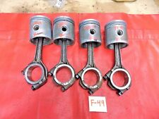 Triumph TR4, TR3, Engine Connecting Rods & 86 mm Pistons, !!