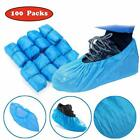 100 Pack Shoe Covers Disposable Waterproof Slip Resistant Non-Slip Protectors