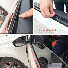 4M Rubber Seal Strips Car Window Door Windshield Abnormal Noise Weatherstrip