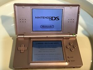 Nintendo DS Console Metallic Rose