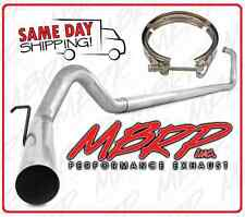 """03-07 FORD 6.0 6.0L POWERSTROKE DIESEL 4"""" ALUMINIZED EXHAUST SYSTEM & D/P CLAMP"""