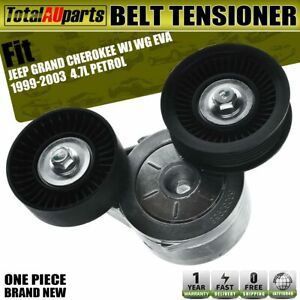Drive Belt Tensioner for Jeep Grand Cherokee WJ WG 4.7L EVA Petrol With Pulley