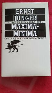 Ernst Jünger - Maxima-Minima EA