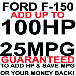 Ford Performance Power FORD F150 Raptor Chip XLT Tuning MPG HP+ FX4+4.6 5.4 6.2
