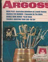 Argosy Magazine August 1966 Eddie Connellan Frederic Borg Eddie Smith Mafia