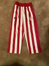 Size-Boy's Youth Small-Candy Stripes Adidas Pants-Indiana Hoosiers-Basketball