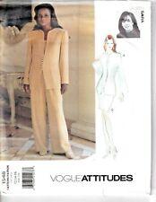 Vogue Sewing Pattern 1548 Lauren Sara Trousers Jacket Skirt Top Suit 12-16 UNCUT