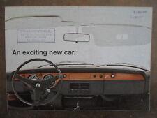 VOLKSWAGEN 411 & L orig 1968 UK Mkt Sales Brochure - VW Type 4 411L