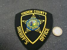 PATCH POLICE ECUSSON COLLECTION  USA   police  yadkin