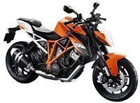 MAISTO 1:12 KTM 1290 Super Duke R MOTORCYCLE BIKE DIECAST MODEL NEW IN BOX