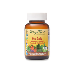 MegaFood Multivitamin Vegetarian Mineral Dietary Supplement 30 One Daily