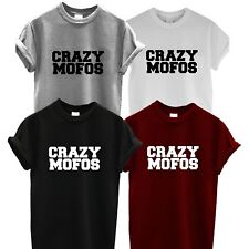 Crazy Mofos T Shirt 1D One Direction Swag UNISEX Top Hipsta hipster Harry Niall