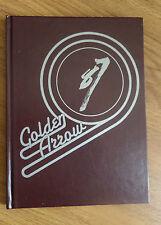 1987 Yearbook Annual Golden Arrow Lancaster High School Lancaster Wisconsin
