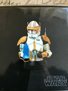 Star Wars Gentle Giant Commander Cody Collectible Mini Bust 3350/3500 New
