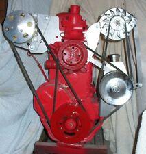 10072 AIR CONDITIONING ALTERNATOR POWER STEERING BRACKETS 1955-59 270 302 GMC