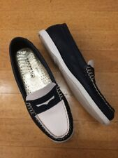 Sperry Topsider's Navy And Ivory Size 6