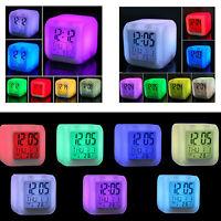 Small Digital Led Clock Table Desk Alarm Clock Modern Kitchen Light Clocks Cheap
