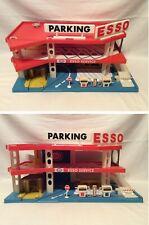 Vintage ESSO Petrol Service Station Toy Garage