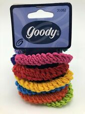 Vintage 1999 Goody Pony Twists Pink Green Blue Fuchsia Teal Ponytail Holders NOS