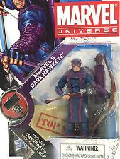 Dark HAWKEYE Series 2 #031~ Marvel Universe Collection Figure~ MOC~ Avengers