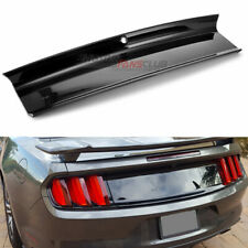 Glossy Black Rear Lid Trunk Decklid Panel Cover Trim For Ford Mustang 2015-2019