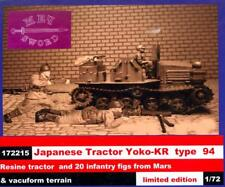 BUM Models 1/72 JAPANESE TRACTOR YOKO-KR TYPE 94 with INFANTRY Figure Set
