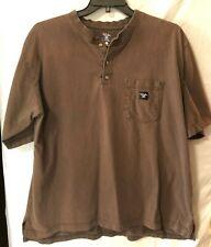 #209 Walls Work Wear, Men's XL Button Up Pocket T  Excellent Condition