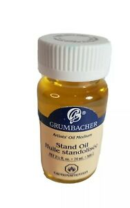 GRUMBACHER Artist Stand Oil Medium Stand Oil 2.5 Oz. New 74ML