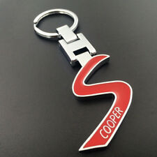 Metal Alloy Car key chain Keychain KeyRing pendant Key Holder FOR MINI COOPER S