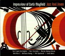 Jazz Soul Seven - Impressions of Curtis Mayfield [New CD] Digipack Packaging