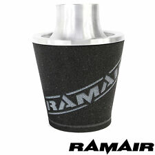 RAMAIR Silber M Aluminium Induktionsluftfilter Universal 90Mm MM Hals