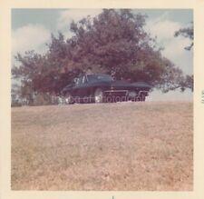 Classic Car FOUND PHOTO Color FREE SHIPPING Original Snapshot VINTAGE 811 32 U
