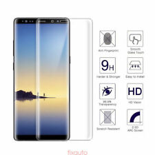 Clear Full Curved 3D Tempered Glass Screen Protector for Samsung Galaxy Note 8