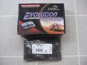 For Cadillac Seville 98-02 Z16 Evolution Clean Ride Ceramic Rear Disc Brake Pads