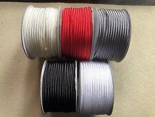 PROMO 15 metres (5x3m) Soutache Cord 3mm STANDARD MIX WHITE BLACK RED GREY ECRU