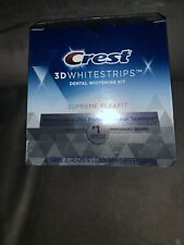 Crest 3D White No-Slip Whitestrips Supreme FlexFit, 42 Strips