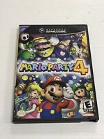 Mario Party 4 (Nintendo GameCube, 2002) Complete - Tested - Authentic Ships Fast
