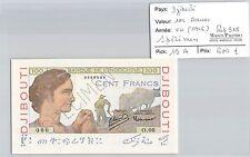 BILLET DJIBOUTI - 100 FRANCS - ND (1946) - SPECIMEN