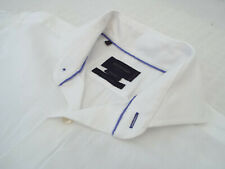 "DUCHAMP Mens Shirt 🌍 Size 15"" (CHEST 40"") 🌎 RRP £135+ 📮 TEXTURED PLAIN"