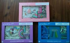 3 SETS Yoobi Back to School Fashion Supply Kit