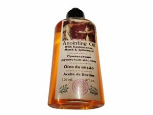 Anointing Oil with Frankincense, Myrrh and Spikenard 120ml from Jerusalem